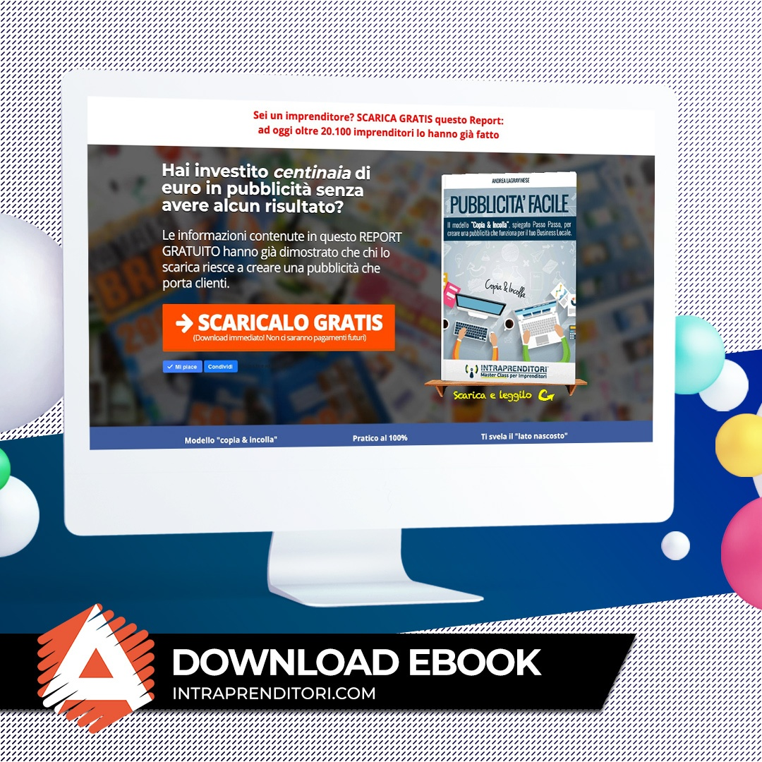 Landing page ebook Lead Generation