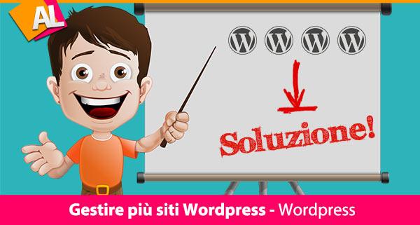 Gestire e aggiornare siti Wordpress