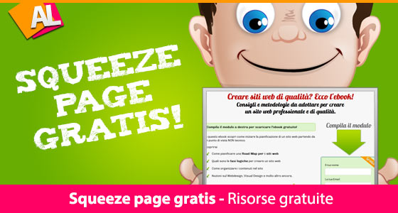 Squeeze page gratis